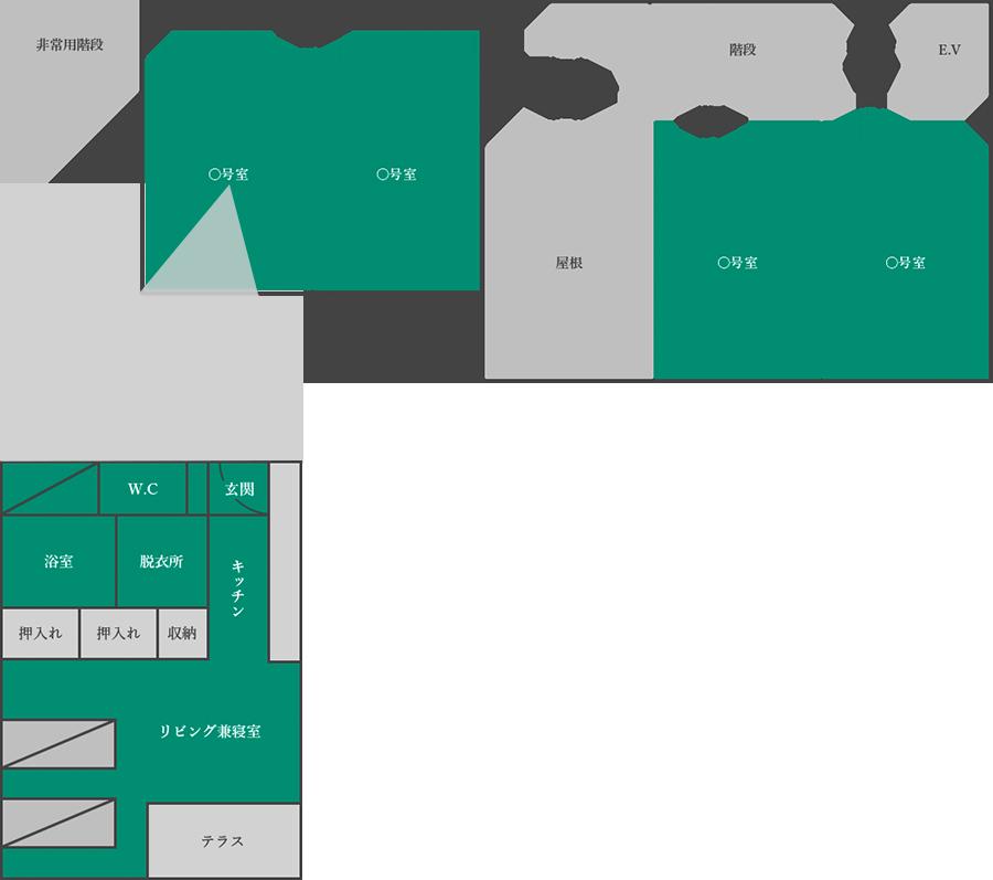 施設内フロアマップ